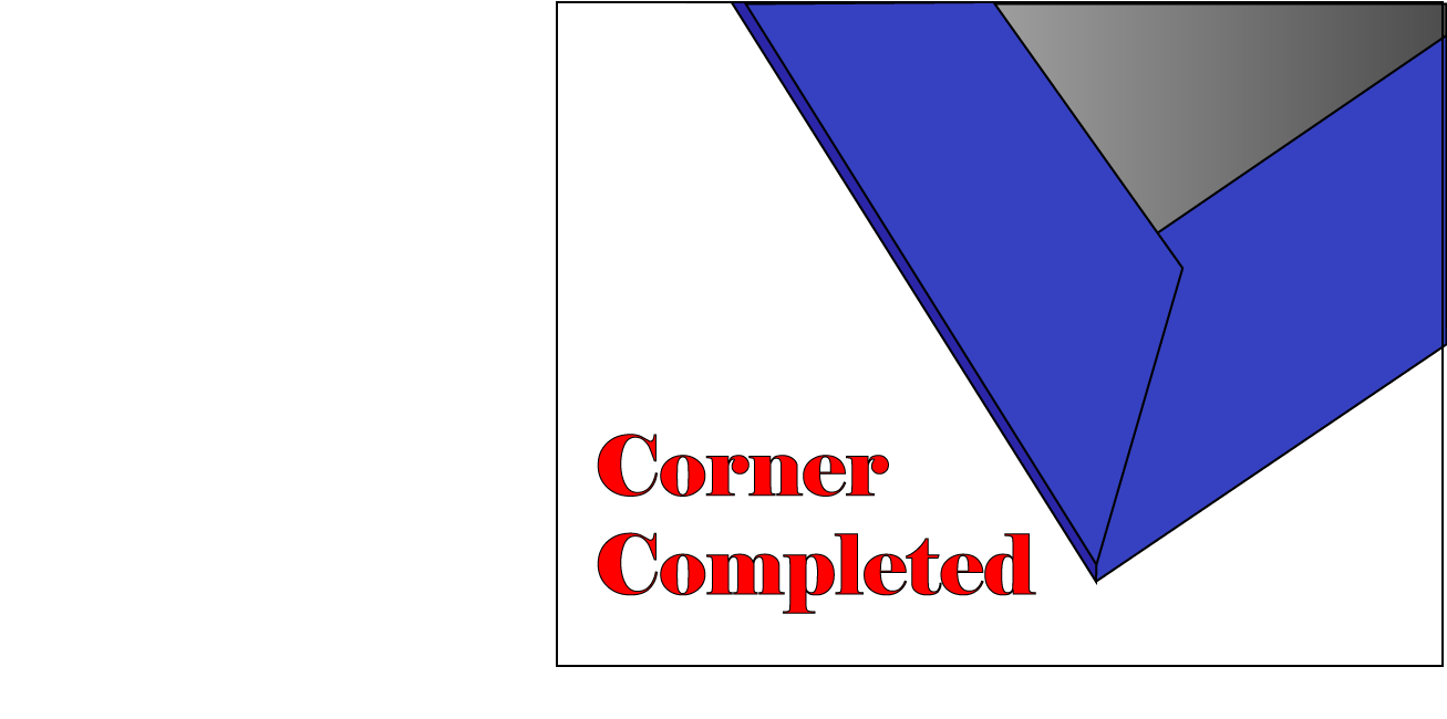 Do it yourself hardcover bookbinding about time publishing blog diagram of finished corner for diy bookbinding solutioingenieria Images