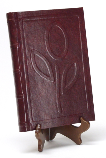 Photo of hand-bound book